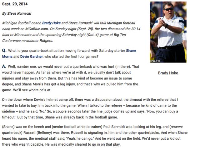 Brady Hoke