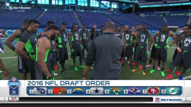 2016 NFL Combine DB